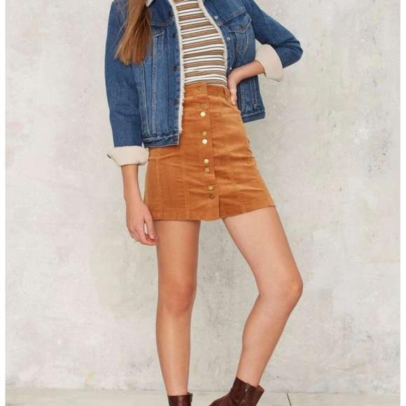 aff9031f24 Very J Skirts | R15 So Cord Rn Corduroy Skirt | Poshmark